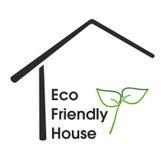 Eco友好房子 免版税库存图片