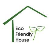 Eco友好房子 库存图片