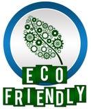 Eco友好的圈子条纹 库存图片