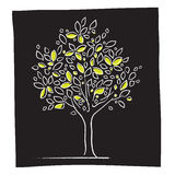 eco图标结构树 库存图片