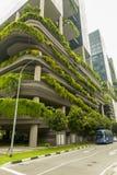 Eco大厦在新加坡 图库摄影