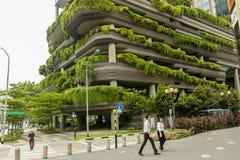 Eco大厦在新加坡 免版税图库摄影