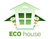 Eco房子 免版税库存照片