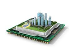 Eco技术的概念 向量例证