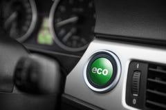 ECO方式按钮 免版税库存图片