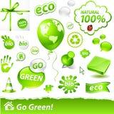 eco标签 免版税图库摄影