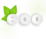 Eco标签 免版税库存照片