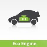Eco汽车 免版税图库摄影