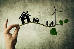 Eco生活 免版税库存照片