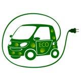 Eco电车 图库摄影