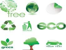 eco绿色 库存照片