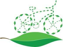Eco自行车 免版税库存图片