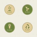 eco许多生态的图象我的投资组合世界 免版税库存照片