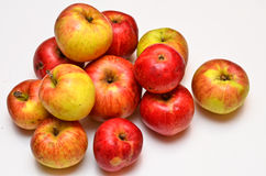 Eco Äpfel lizenzfreies stockfoto