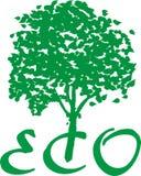Eco (Ökologie) lizenzfreie abbildung