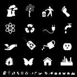 eco środowiska symbole Zdjęcie Stock