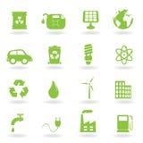 eco środowiska symbole Obrazy Royalty Free
