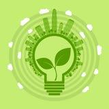 Eco żarówka Obrazy Royalty Free