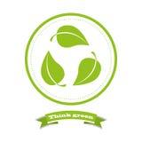 Eco życzliwy ilustracja wektor