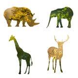 Eco życzliwy pojęcie dla przyrody ochrony Zdjęcia Royalty Free
