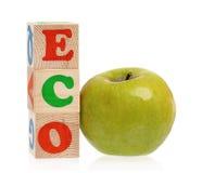 Eco λέξης Στοκ εικόνα με δικαίωμα ελεύθερης χρήσης