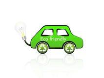 eco αυτοκινήτων φιλικό Στοκ Εικόνες