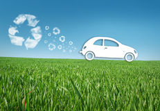 eco αυτοκινήτων Στοκ Εικόνες