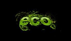 eco φιλικό Στοκ Εικόνα