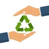 Eco φιλικό η φύση σώζει Στοκ Εικόνες