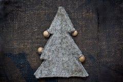eco Χριστουγέννων Στοκ εικόνα με δικαίωμα ελεύθερης χρήσης