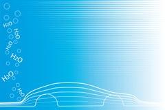 eco автомобиля содружественное Стоковая Фотография RF