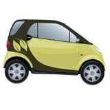eco автомобиля содружественное стоковые изображения