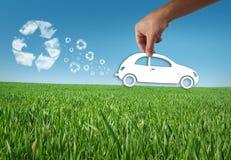 eco автомобиля Стоковая Фотография