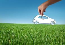 eco автомобиля Стоковое Изображение