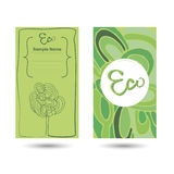 eco визитной карточки Стоковая Фотография