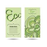 eco визитной карточки Стоковые Фотографии RF