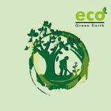 Eco, глауконит бесплатная иллюстрация