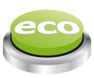 eco кнопки Стоковые Изображения RF