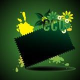 eco принципиальной схемы Стоковое фото RF