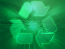 eco рециркулируя символ бесплатная иллюстрация