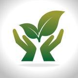Eco绿色能量 库存照片