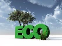 Eco Lizenzfreie Stockfotografie