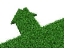 σπίτι eco Στοκ φωτογραφία με δικαίωμα ελεύθερης χρήσης