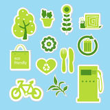 Eco 19 stock illustration