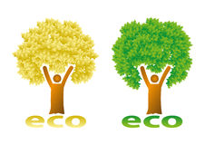 ECO Illustration Stock