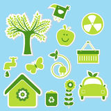 Eco 20 stock illustration