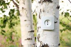 概念eco能源 免版税库存照片
