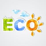 eco Στοκ Φωτογραφία