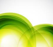 绿色eco通知摘要背景 免版税库存图片