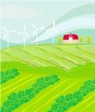 Eco种田 免版税库存照片